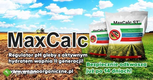 WAPNO ORGANICZNE MAX CALC odkwasza już po 14 dniach