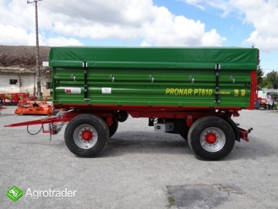 Przyczepa rolnicza 8 t paletowa PRONAR PT608 - zdjęcie 6
