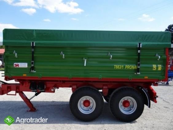 Przyczepa rolnicza tandem TRANSPORT 10T PRONAR T663/1 - zdjęcie 2