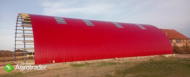 HALA stalowa łukowa hangar magazynowy 10,8 x 50 - zdjęcie 2