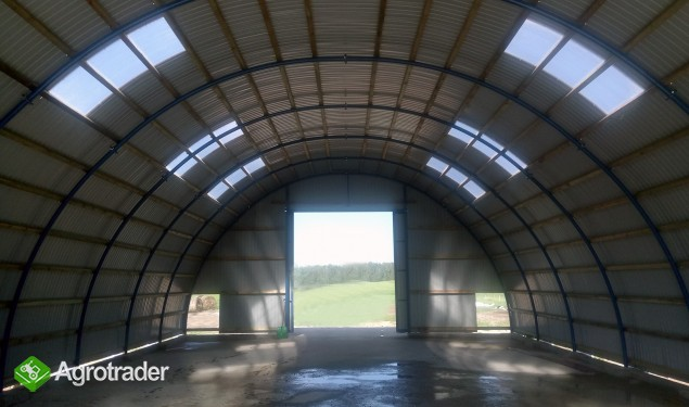 HALA łukowa tunelowa magazyn hangar 11,8 x 40 - zdjęcie 2