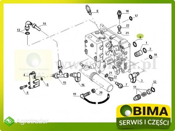Oring układu hydraulicznego Renault CLAAS Ares 620,620 - zdjęcie 2