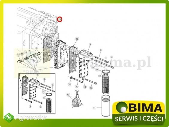 Uszczelka bloku elektrozaworów John Deere 6420,6420S - zdjęcie 1