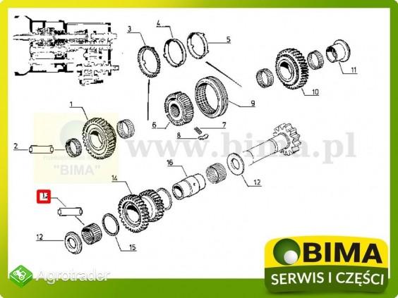 Koszyk igiełkowy skrzyni biegów Renault CLAAS 133-14 - zdjęcie 1