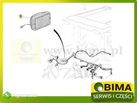 Lampa robocza na błotnik tylny Renault CLAAS Atles 926 - zdjęcie 2