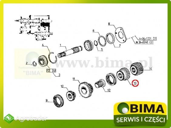 Używane koło zębate z23 Renault CLAAS 103-12,103-14 - zdjęcie 3