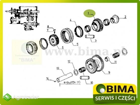 Używane koło zębate z28 Renault CLAAS 110-54,113-12 - zdjęcie 3