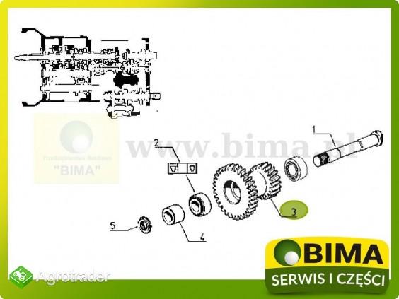 Używane koło zębate wałka Renault CLAAS Temis 550,610 - zdjęcie 4