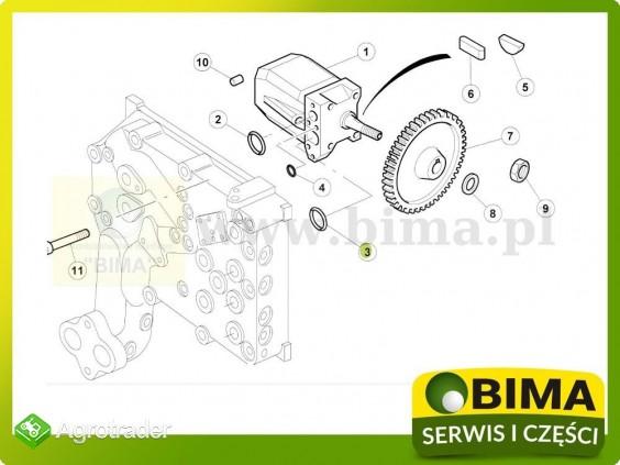 Oring pompy hydraulicznej Renault CLAAS Ares 630,636 - zdjęcie 1