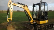 Mini-koparka Caterpillar CAT 302.7D 2015r.