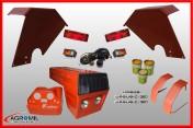 Maska nowy typ kpl Ursus C-360 błotniki tylne kwadrat przednie C360