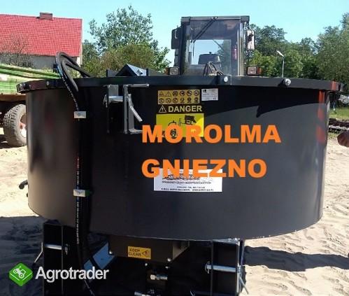 NAJWYŻSZA JAKOŚĆ betoniarka mixer KOŁASZEWSKI ciągnikowa HYDRAULICZNE
