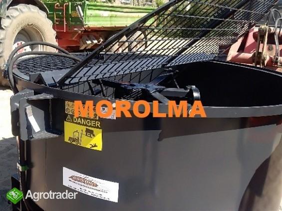 NAJWYŻSZA JAKOŚĆ betoniarka mixer KOŁASZEWSKI ciągnikowa HYDRAULICZNE - zdjęcie 3