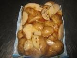 ziemniaki obrane gotowane