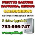 Naprawa piecyków gazowych Kraków tel. 793-666-747