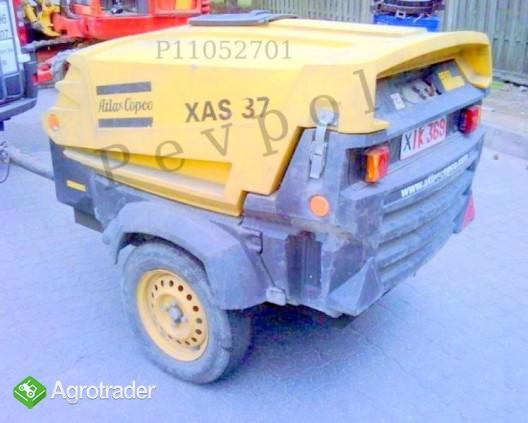 Sprężarka Przewoźna, Atlas Copco, XAS 37 KD