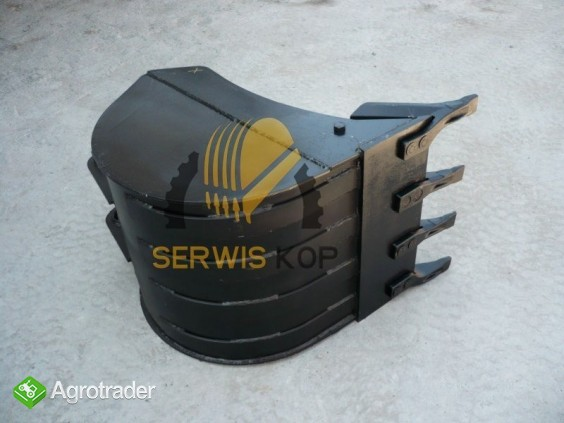 Bucket JCB 50 - HARDOX
